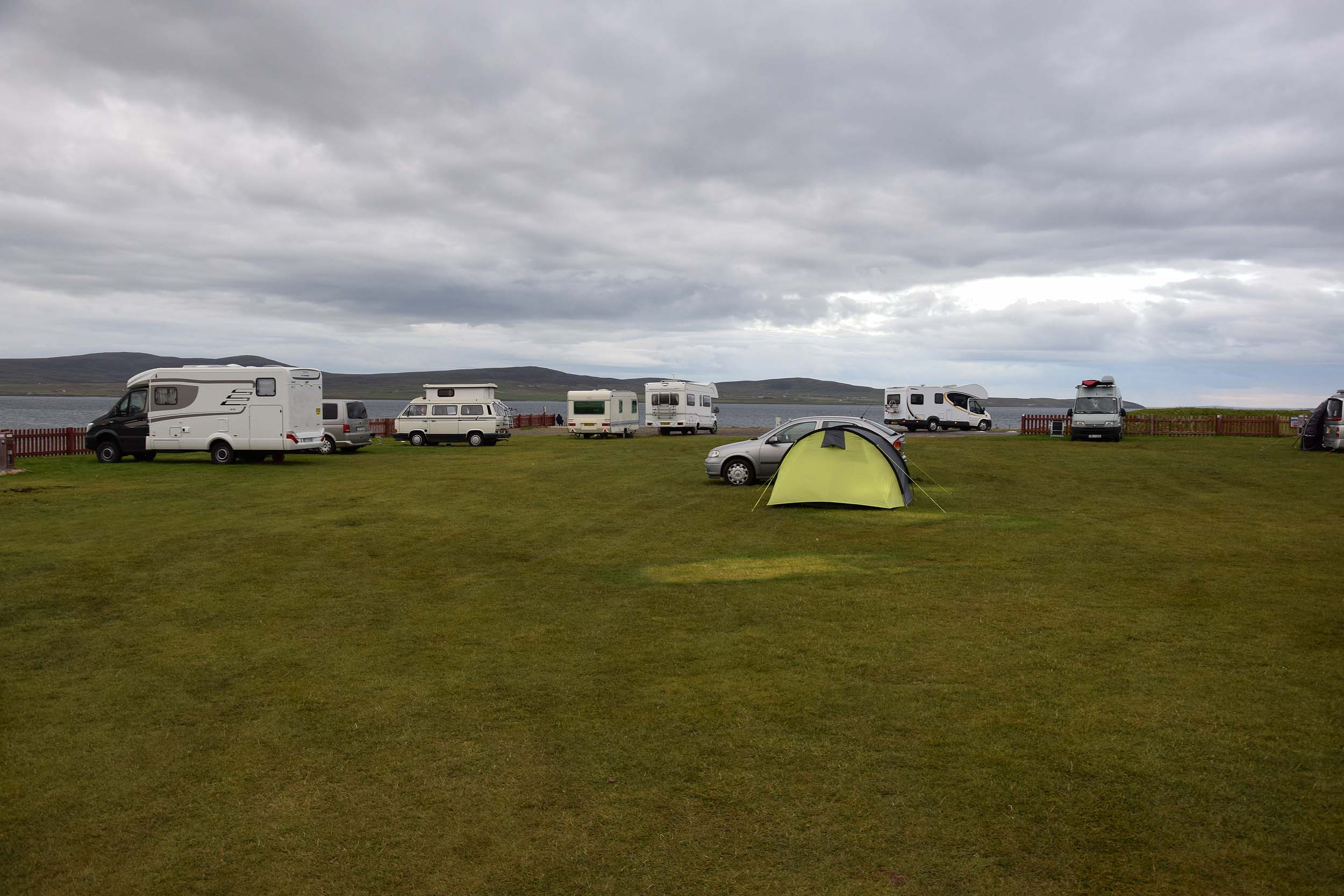 Campingplatz in Stromness