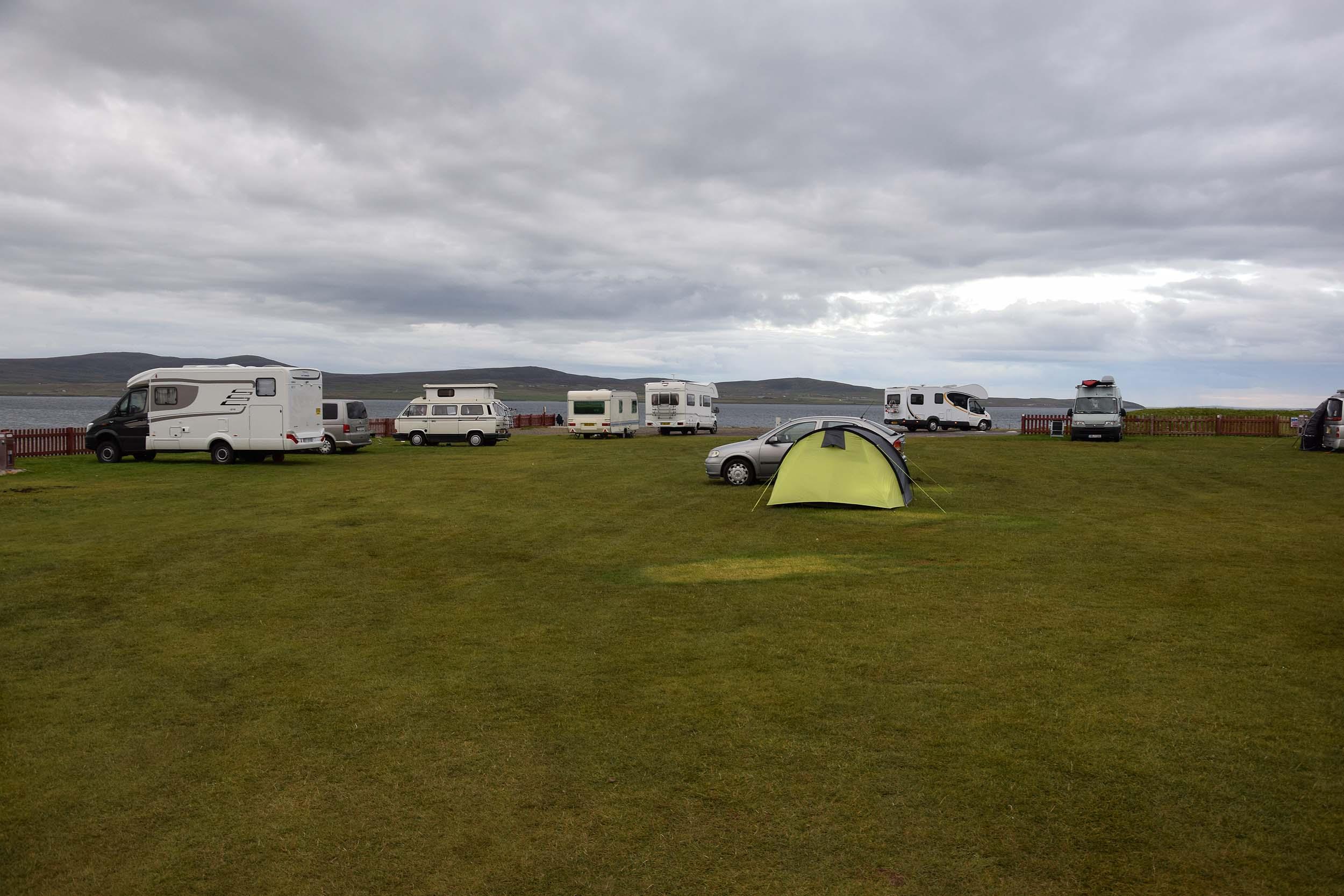 Campingplatz in Stromness