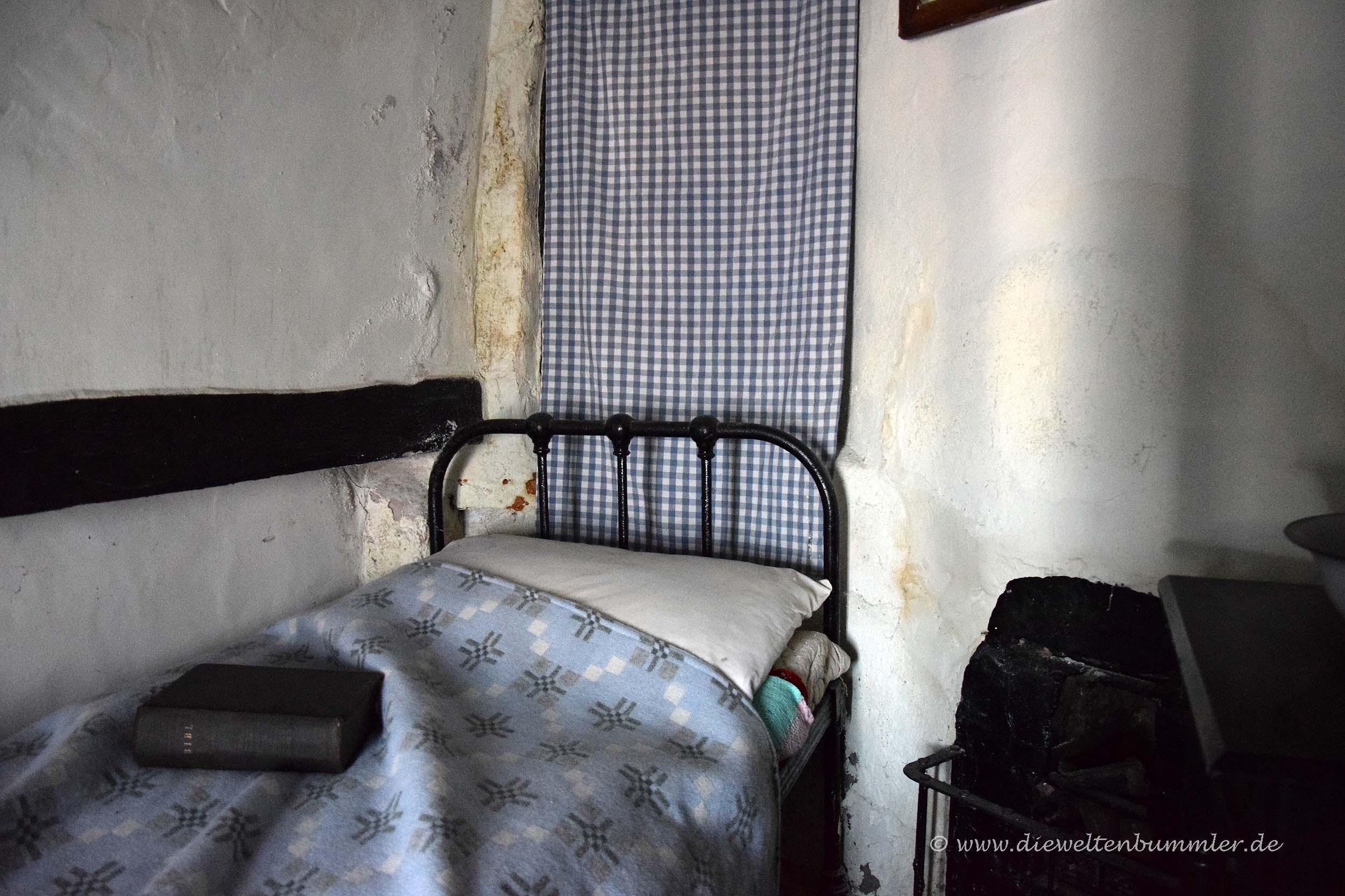 Im Inneren des kleinsten Hauses