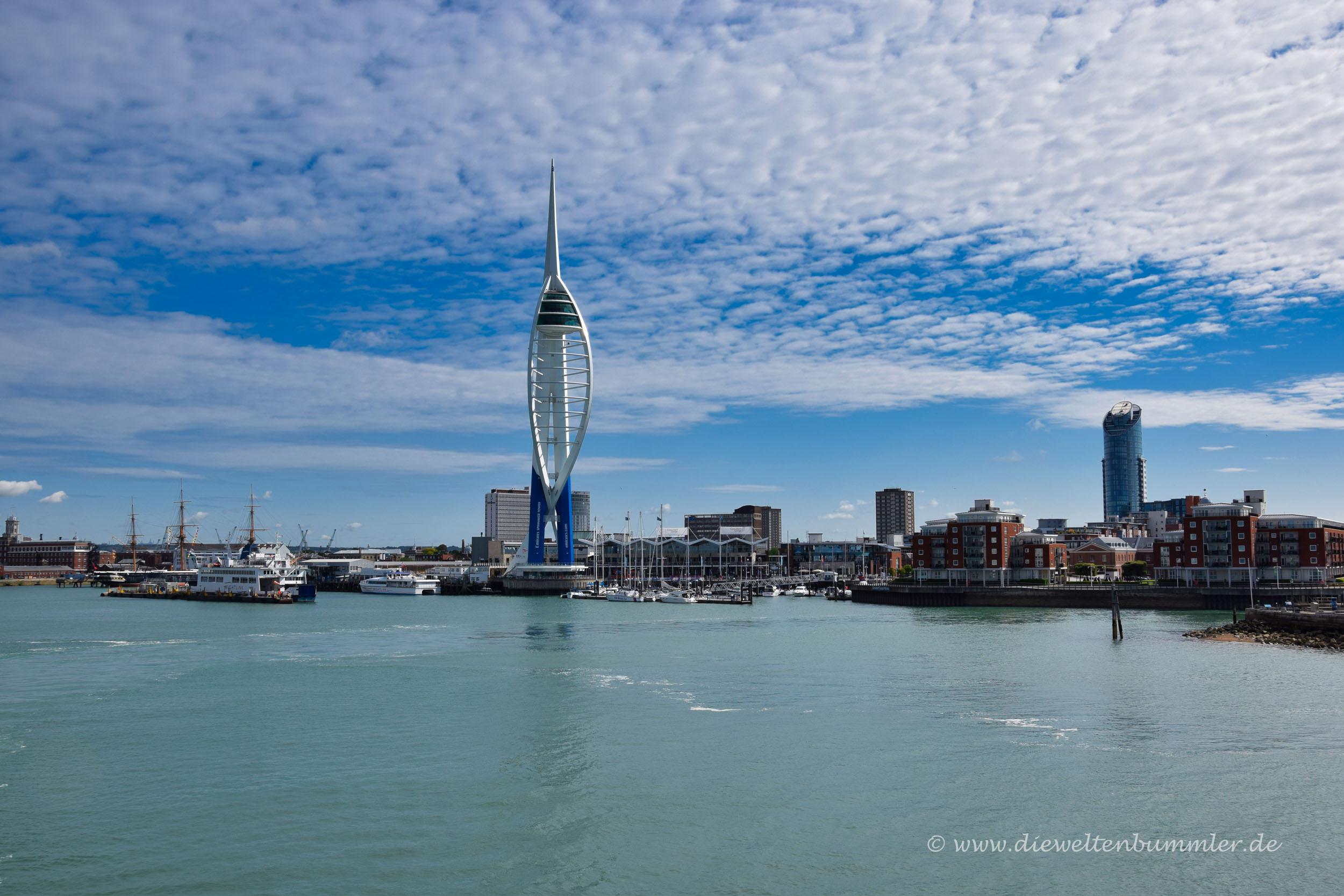 Skyline von Portsmouth
