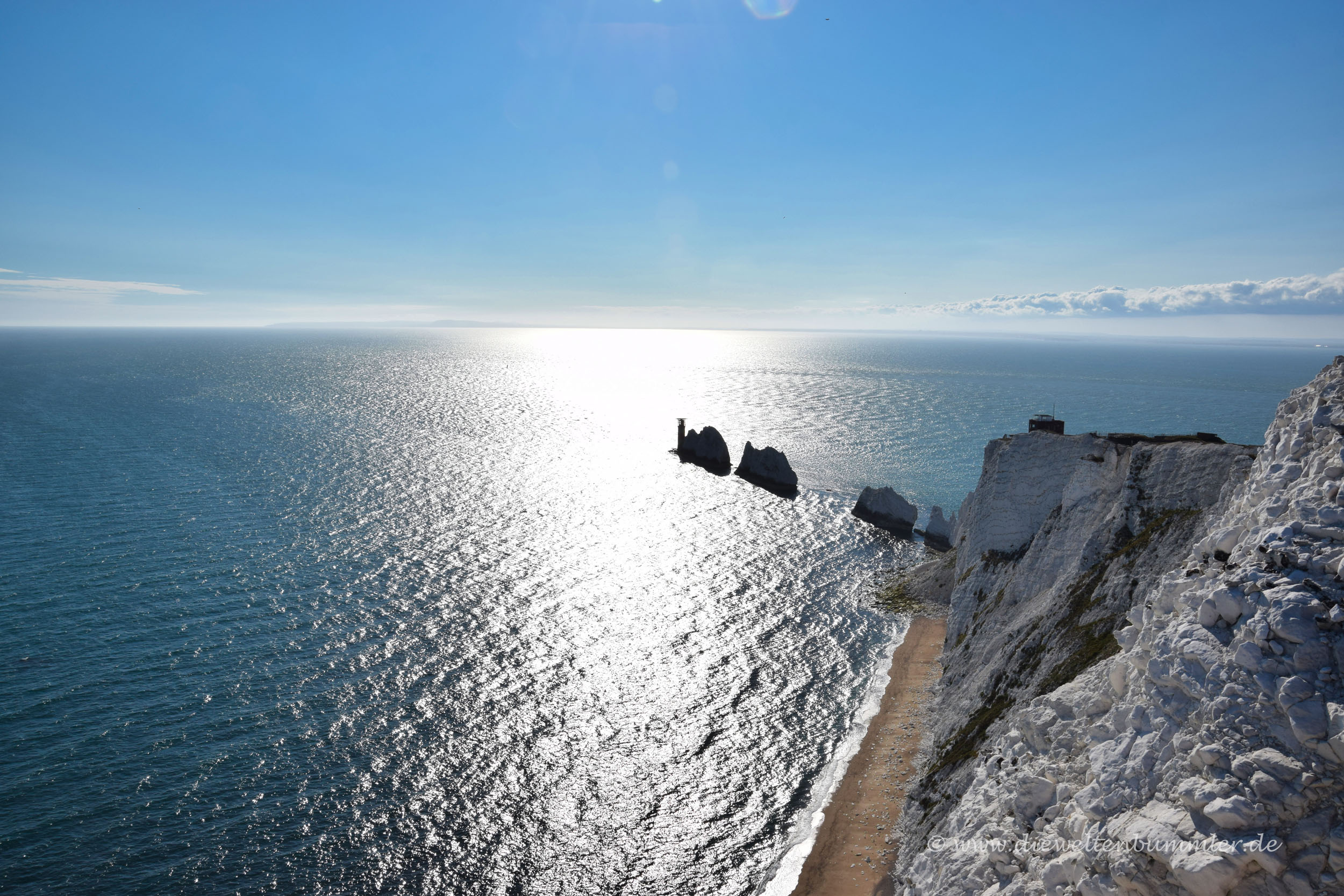 The Needles ganz im Westen