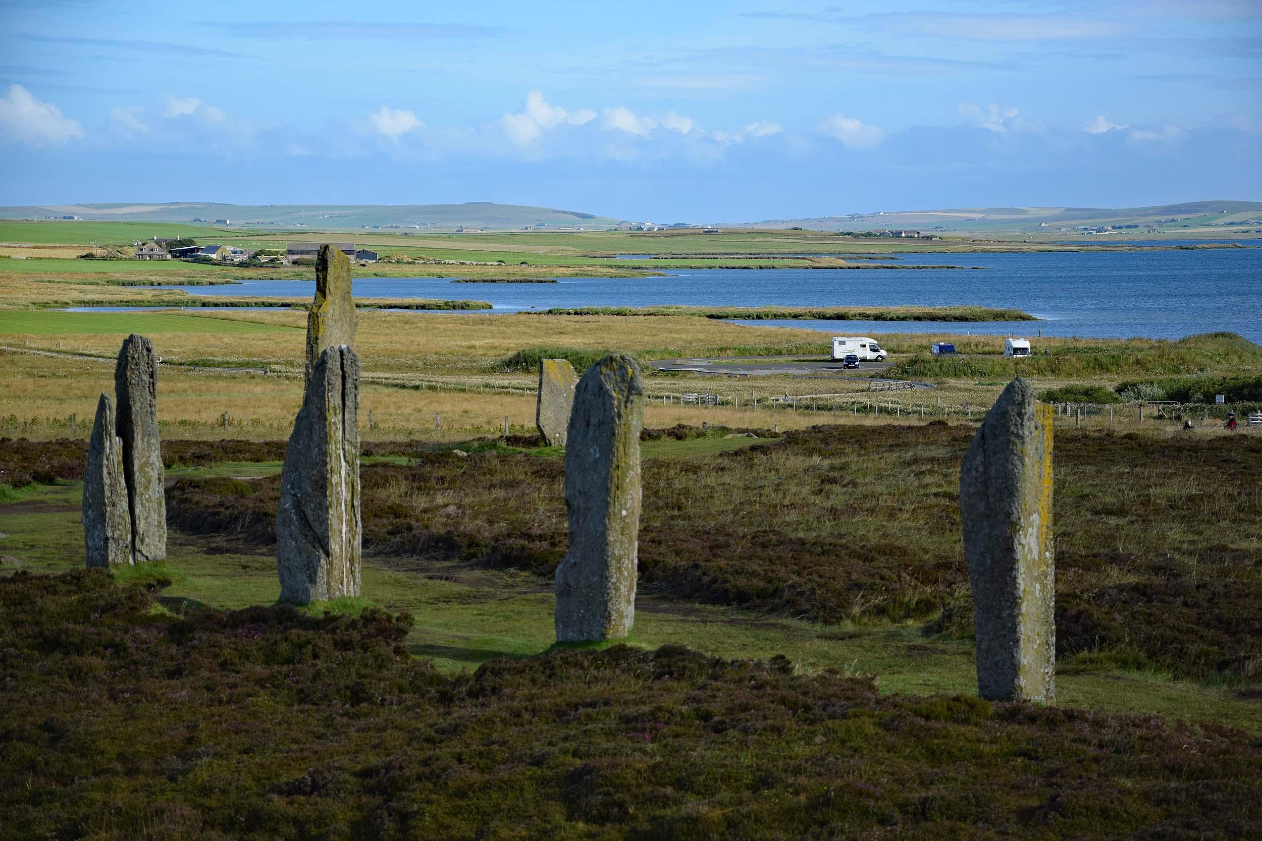 Wohnmobil am Ring of Brodgar
