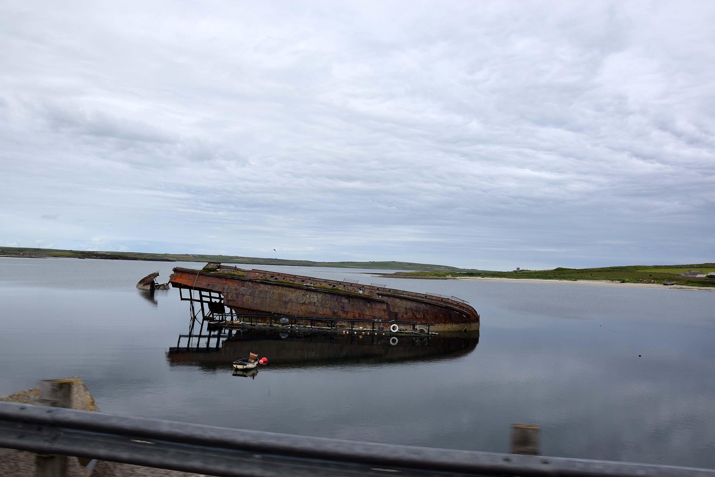 Wrack im Scapa Flow
