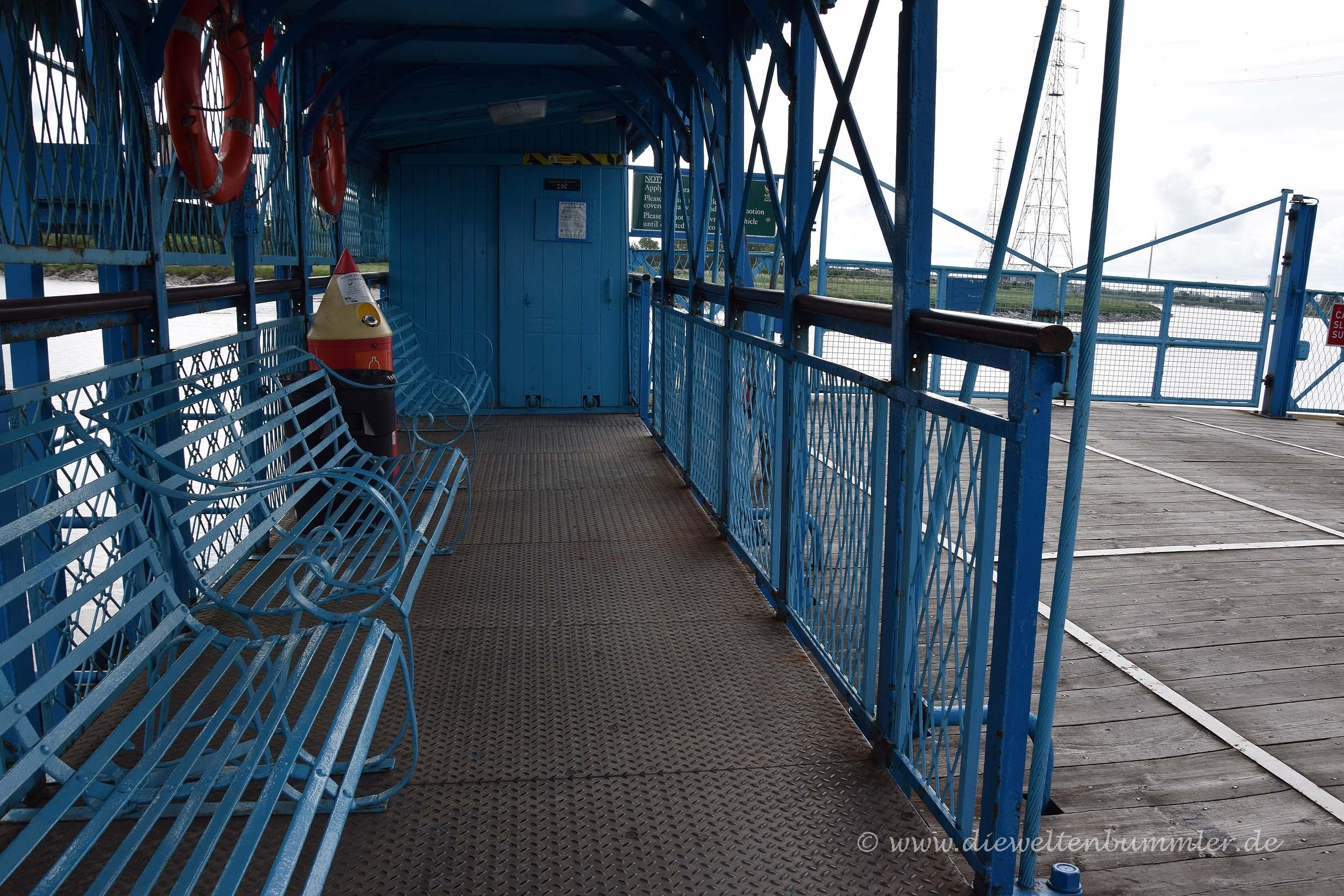 Sitzgelegenheiten für die Überfahrt