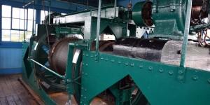 Maschinenraum der Schwebefähre
