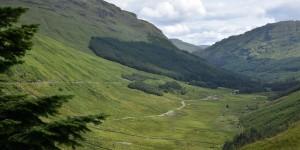 Das Tal Glen Croe