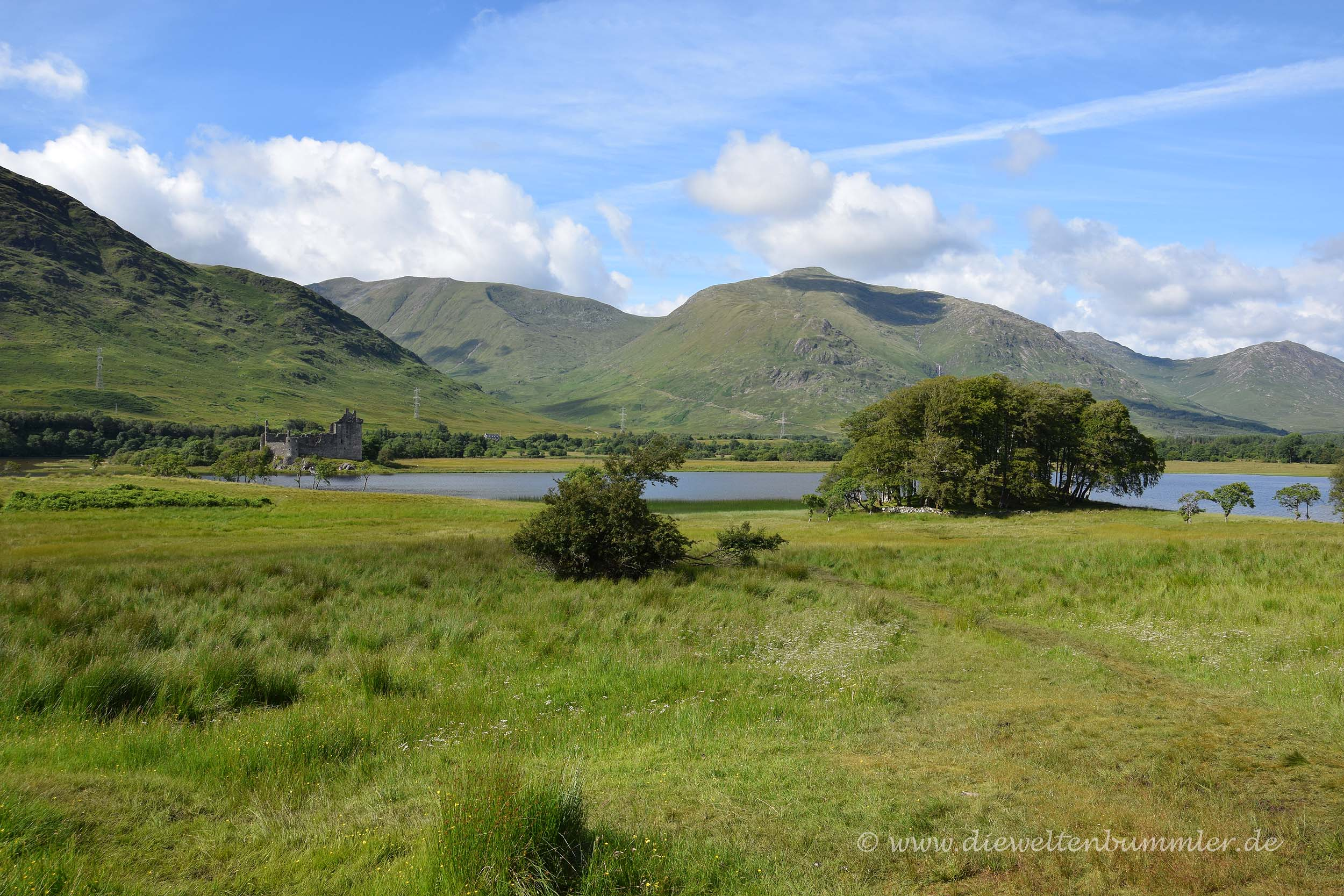 Highlands in Schottland