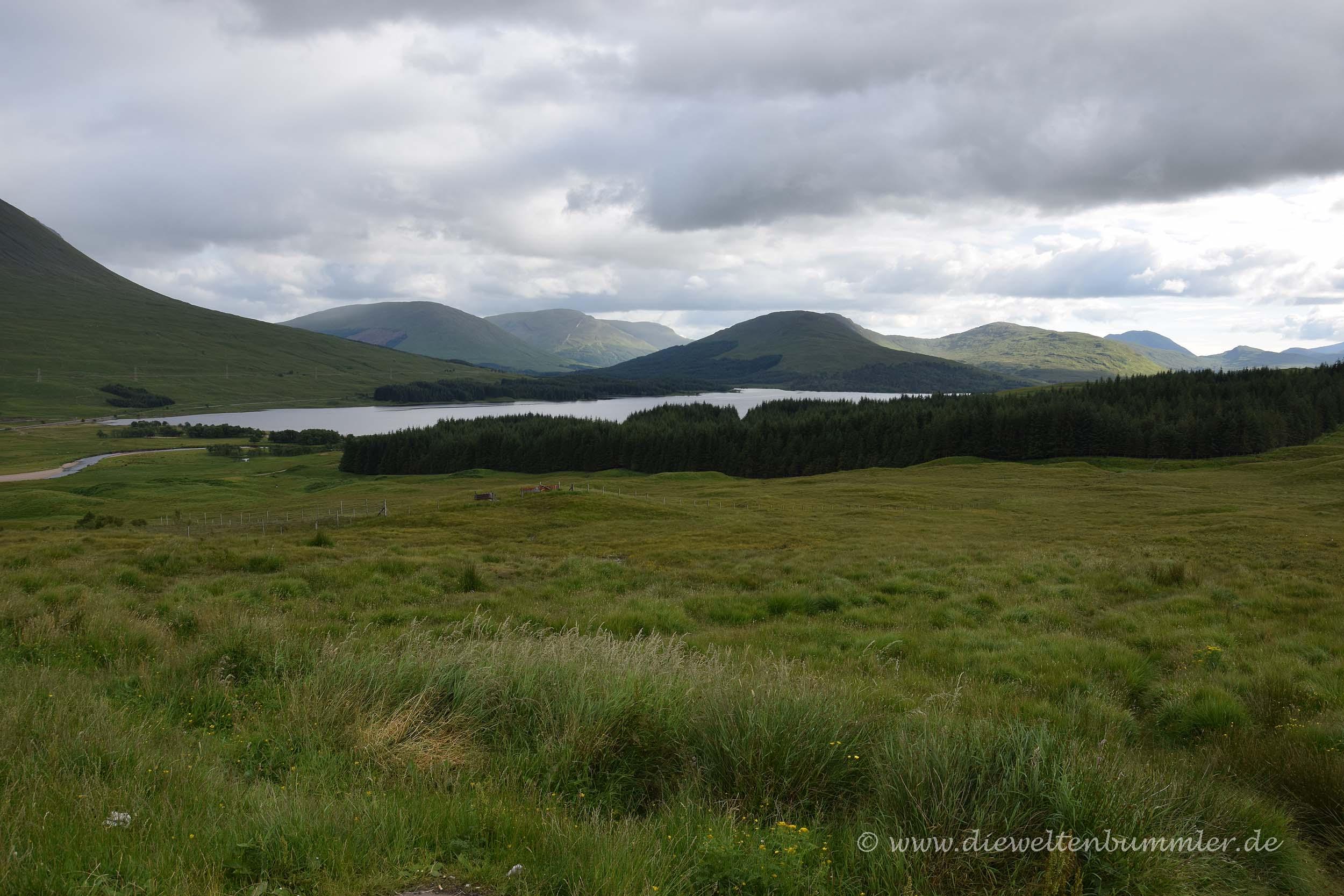 Blick auf Loch Tulla