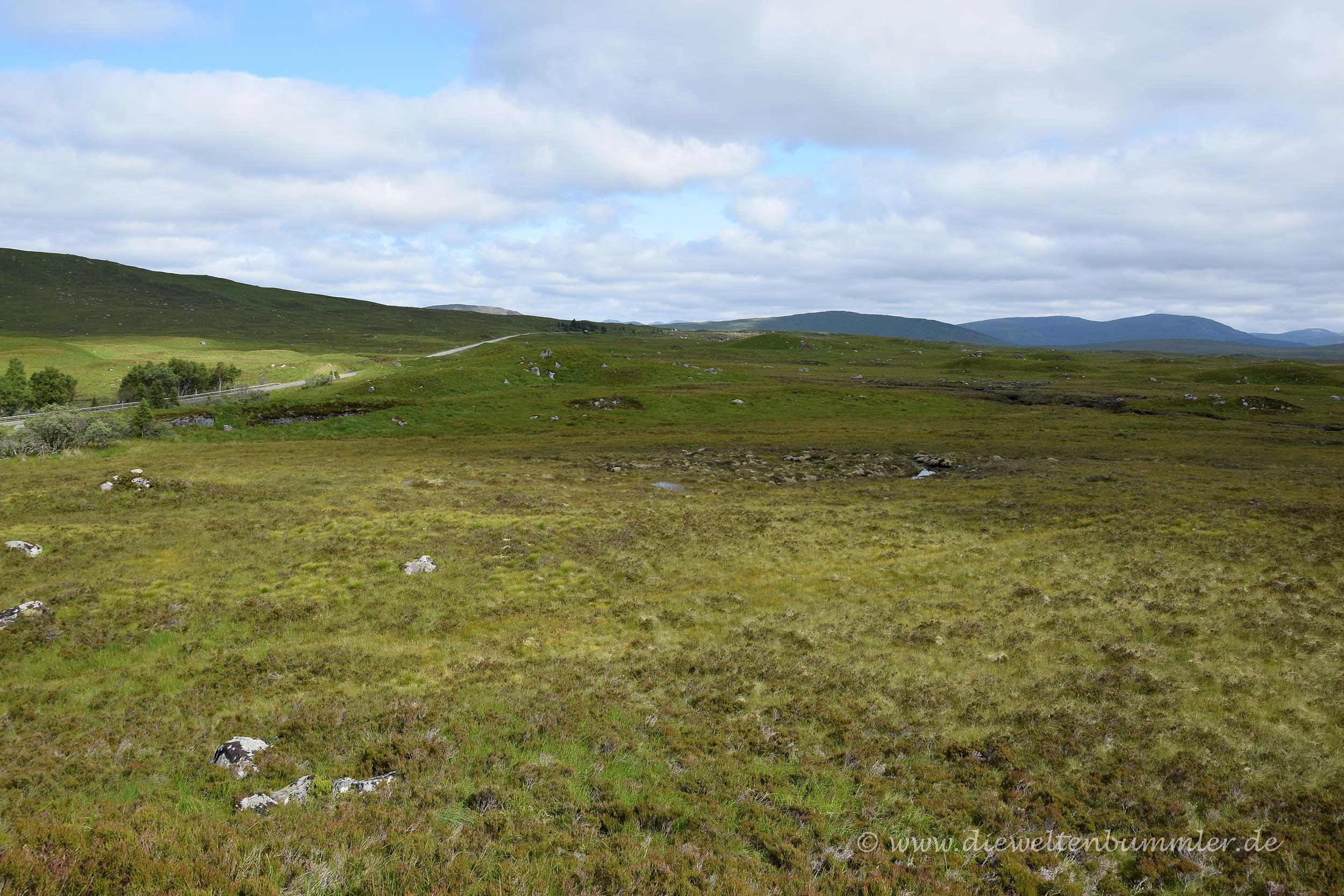 Landschaft im Rannoch Moor
