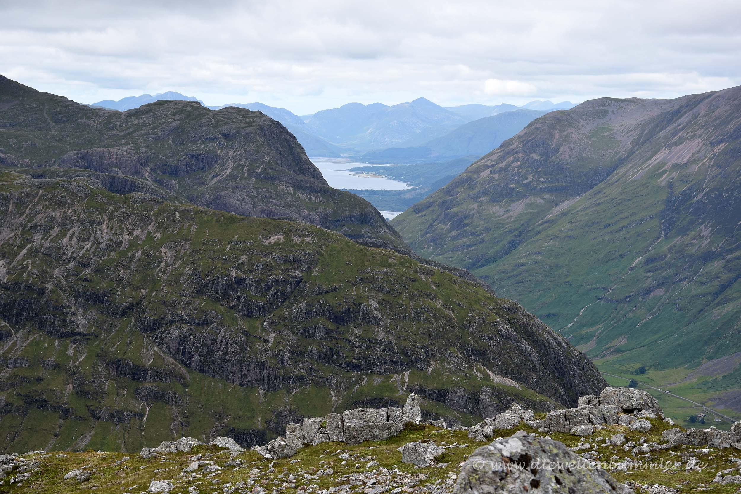 Ausblick von einem Munro