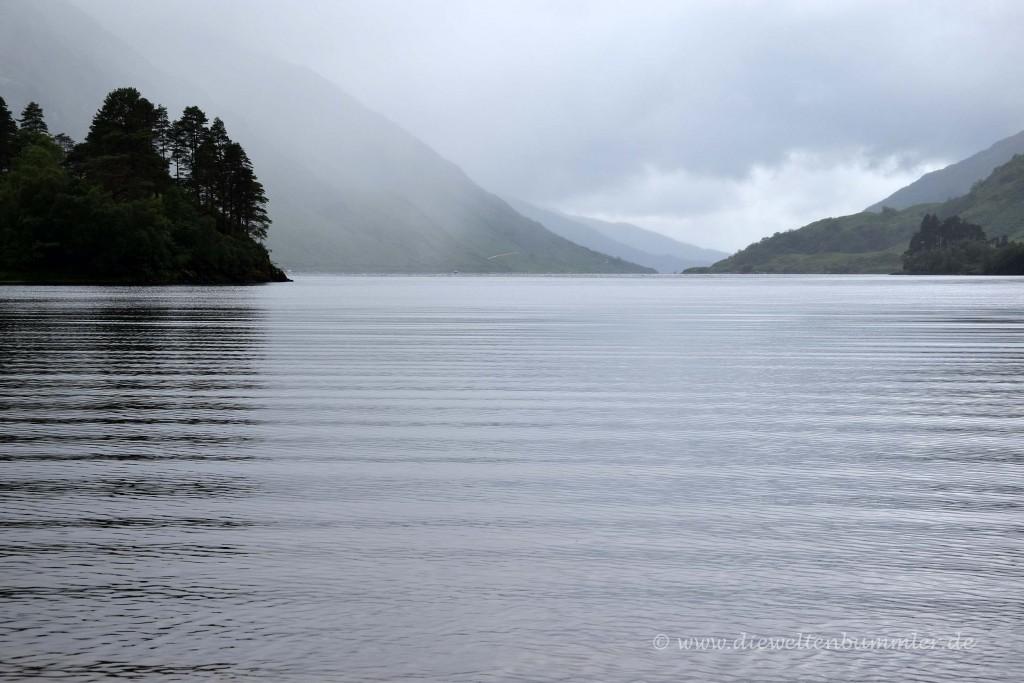 Der See heißt Loch Shiel
