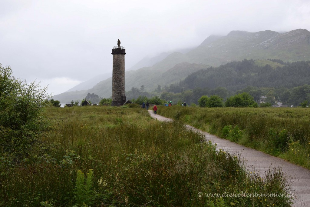 Glenfinnan Monument am Loch Shiel