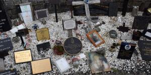 Gedenken an verstorbene Soldaten