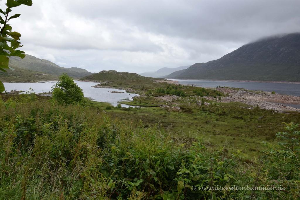 Unterwegs am Loch Cluanie