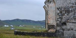 Ruinen auf der Isle of Skye