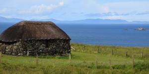 Blick zu den Äußeren Hebriden