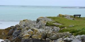 Küste auf der Insel Uist