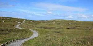 Wanderweg auf Lewis and Harris
