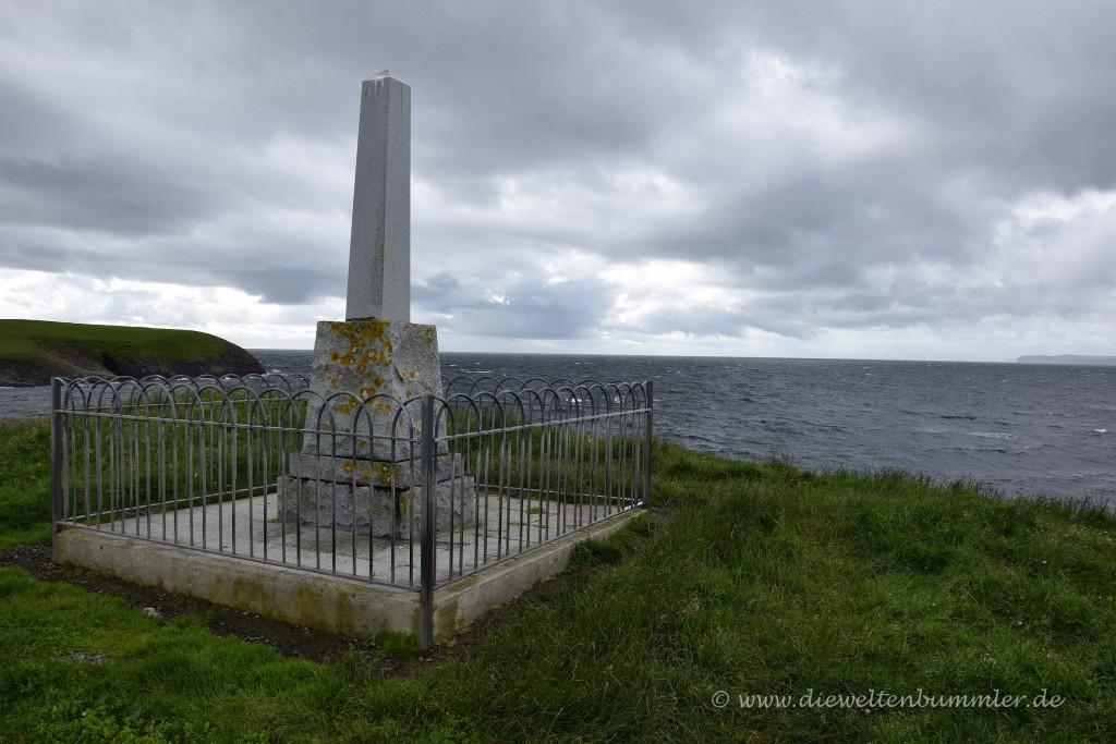 Denkmal für die HMY Iolaire