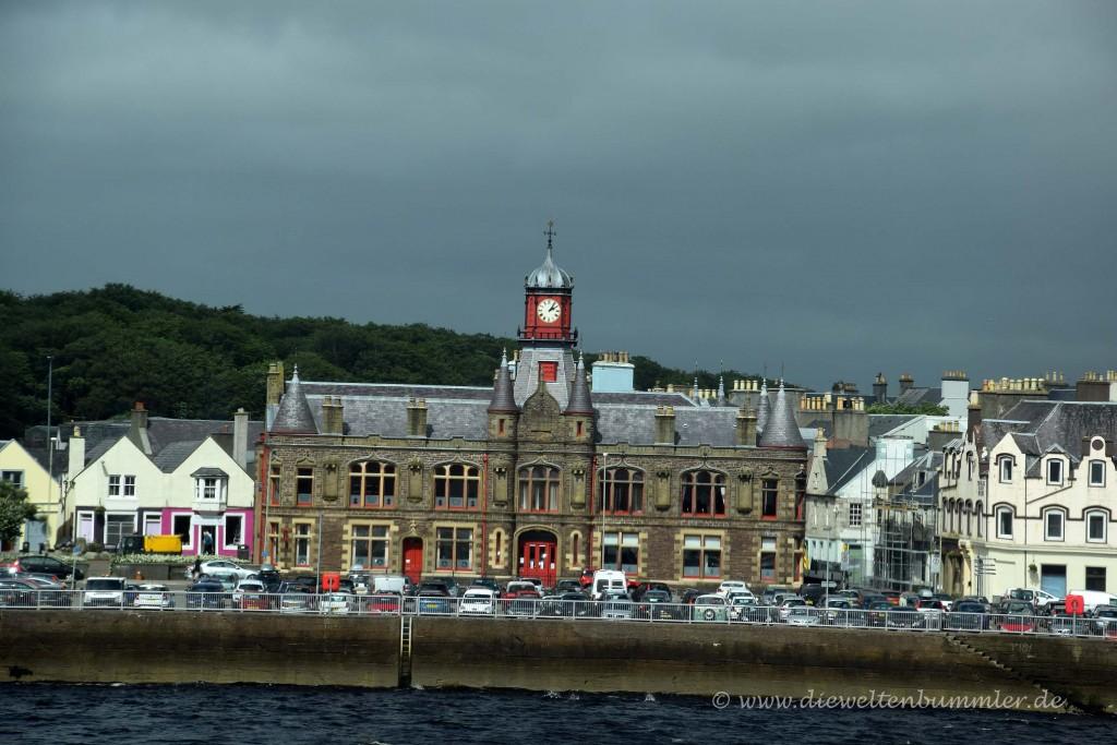 Stornoway ist die Hauptstadt von Lewis and Harris