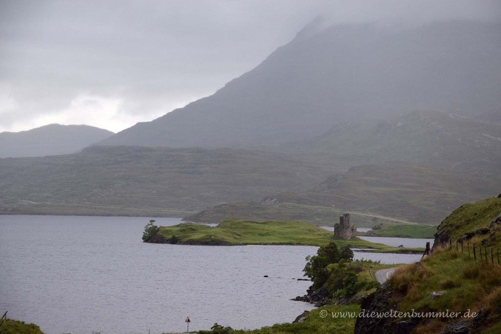 Schlechtes Wetter in Schottland