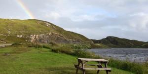 Picknickplatz in den Highlands