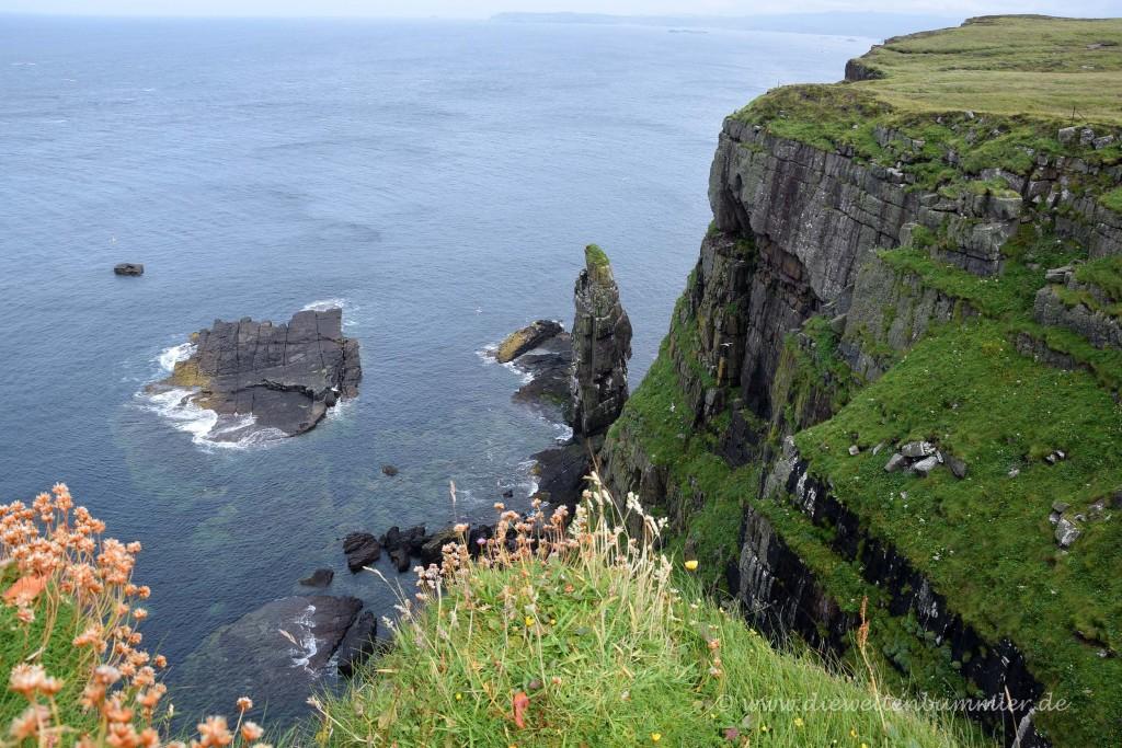 Steilküste auf Handa