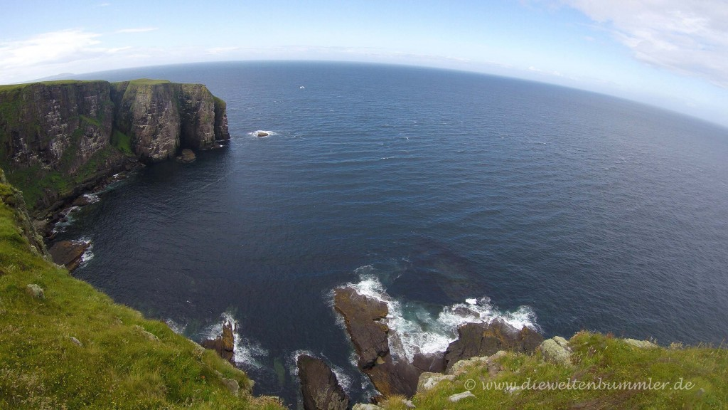 Blick auf die Irische See
