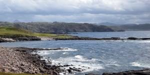 Blick zum schottischen Festland