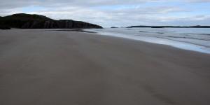Strand in Schottlands Norden