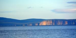 Blick zur Insel Hoy