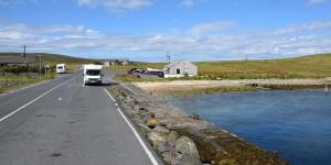 Hafen von Toft auf Mainland