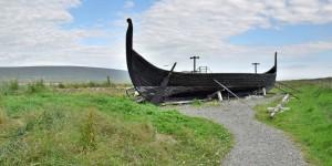 Nachbau eines Wikingerbootes