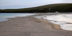 Tombolo zu St. Ninians Isle