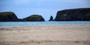 Strand auf dem Tombolo