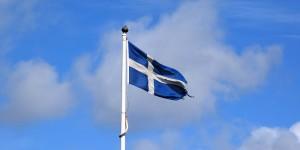 Flagge der Shetland Inseln