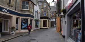 Straße in Lerwick