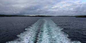 Fähre zwischen Shetland und Aberdeen