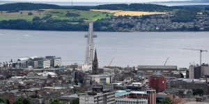 Blick vom Dundee Law
