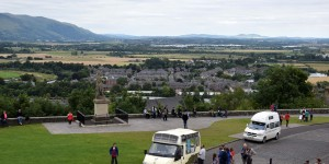 Wohnmobile am Stirling Castle