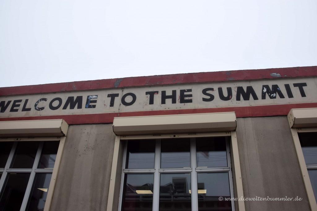 Willkommen auf dem Gipfel