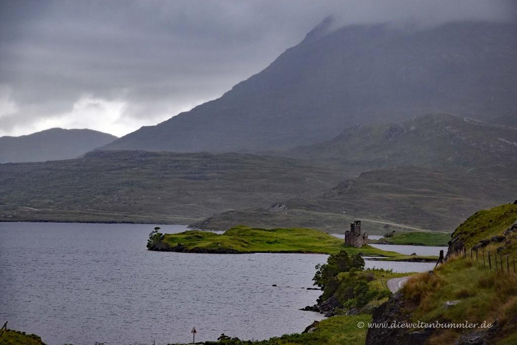 Scalloway Castle auf den Shetland-Inseln