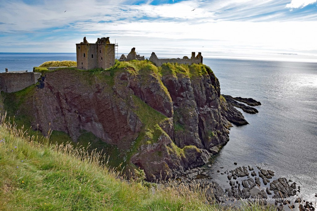 Dunnottar Castle auf einer Halbinsel