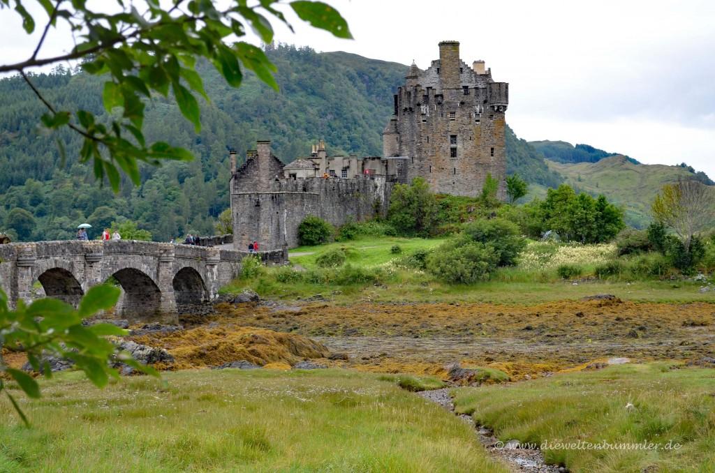 Eilean Donan Castle ist oft eine Filmkulisse