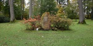 Hölderlin-Denkmal im Gräflichen Park