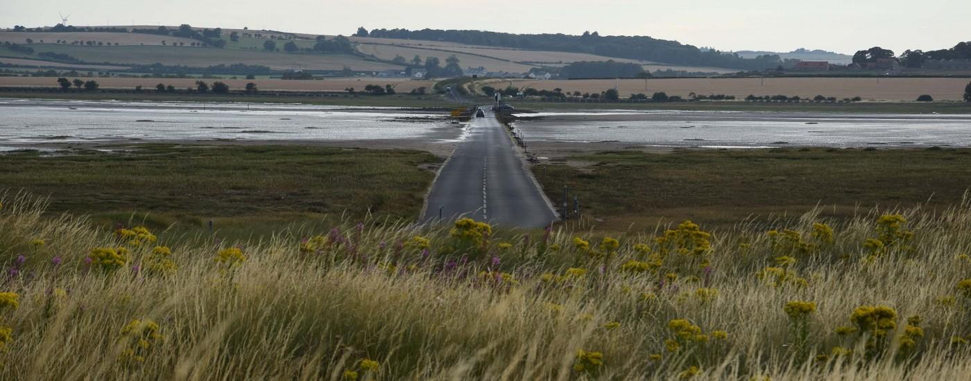 Straße zum Festland