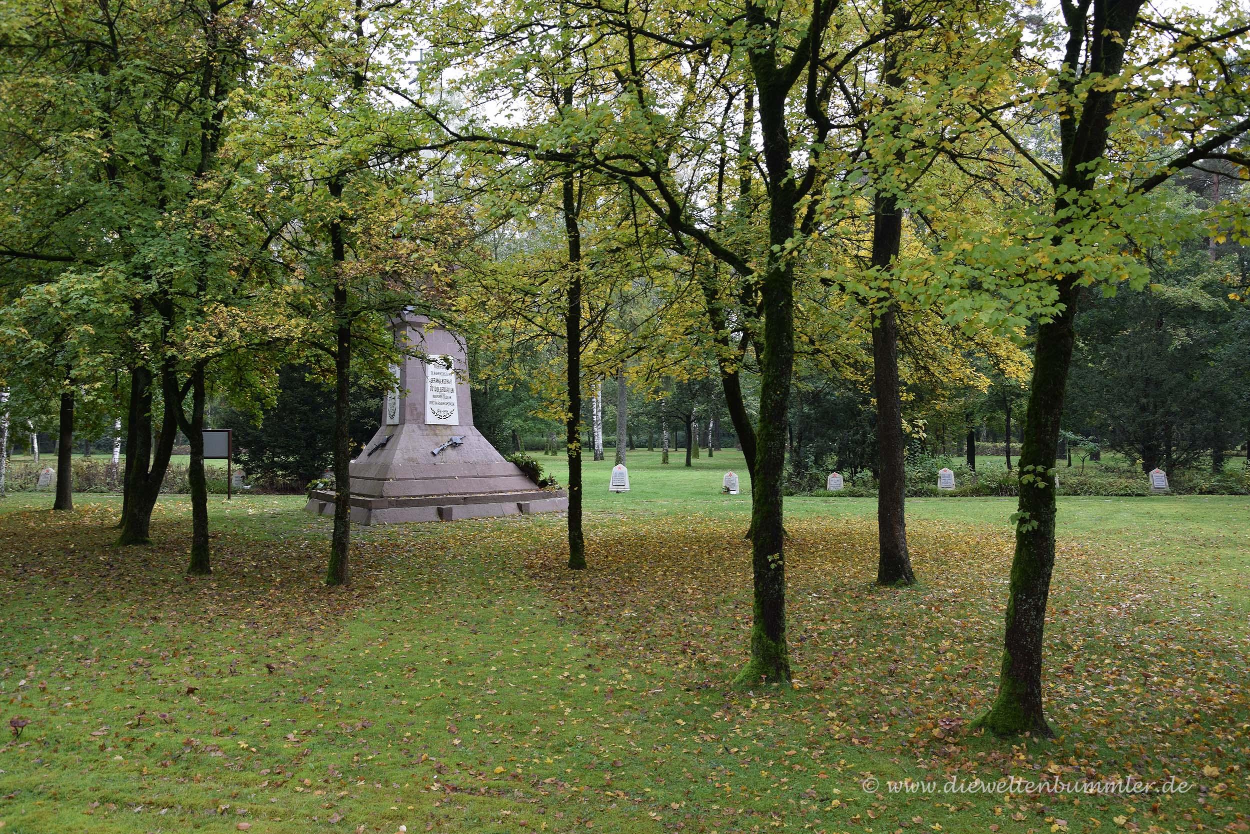 Sowjetischer Soldatenfriedhof an den Emsquellen