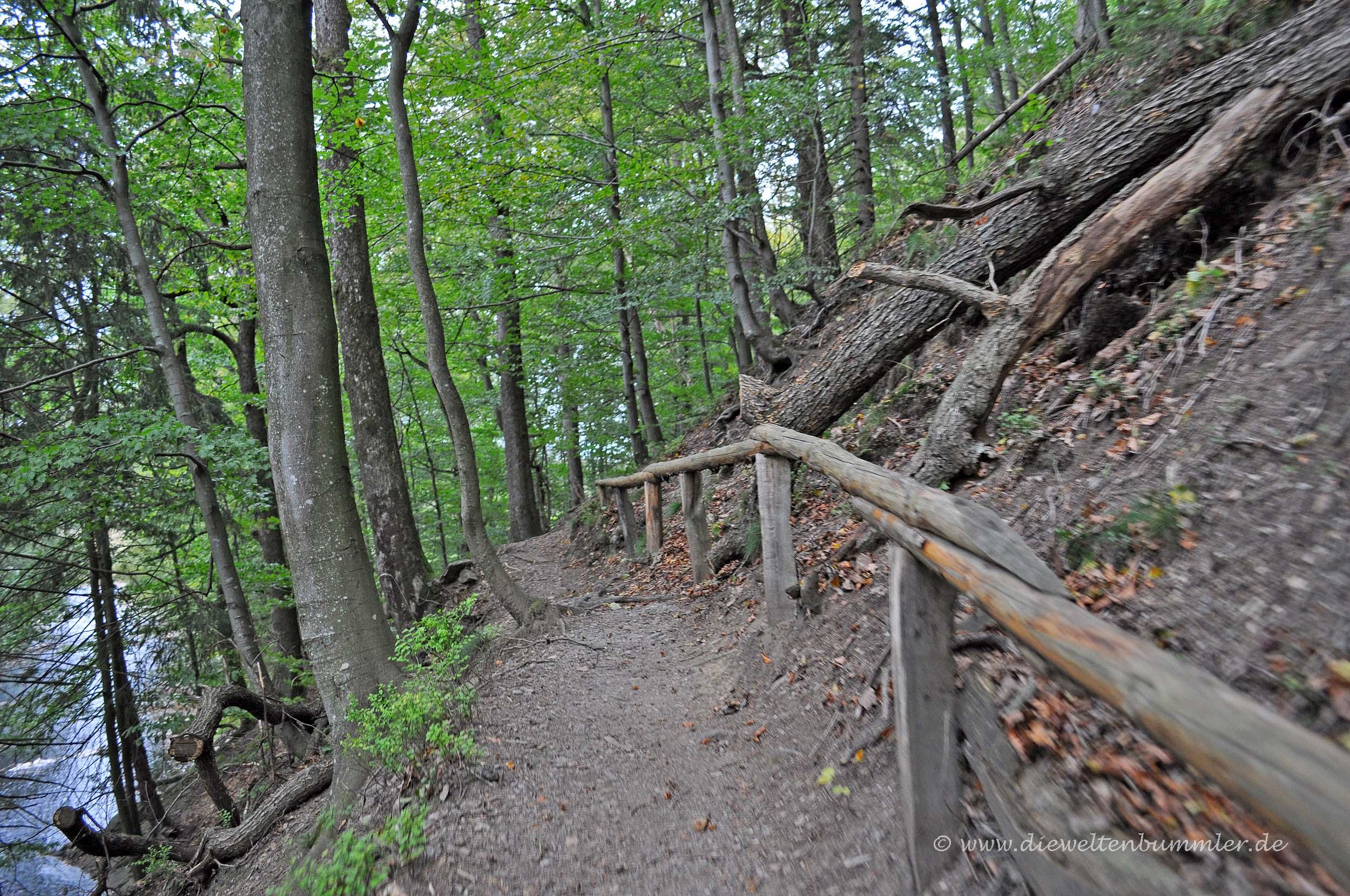Wanderung im Hill-Tal