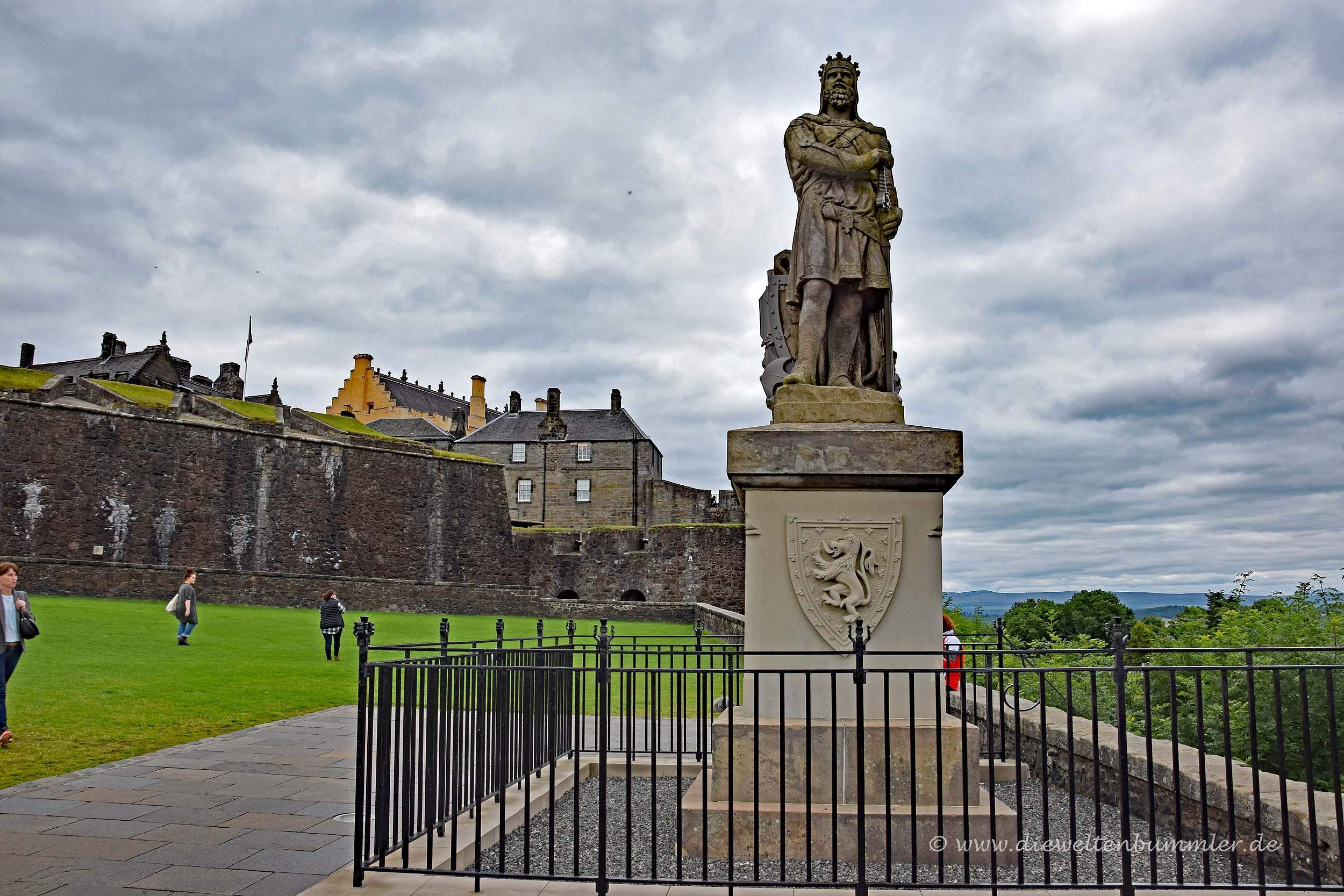 Robert the Bruce vor Stirling Castle