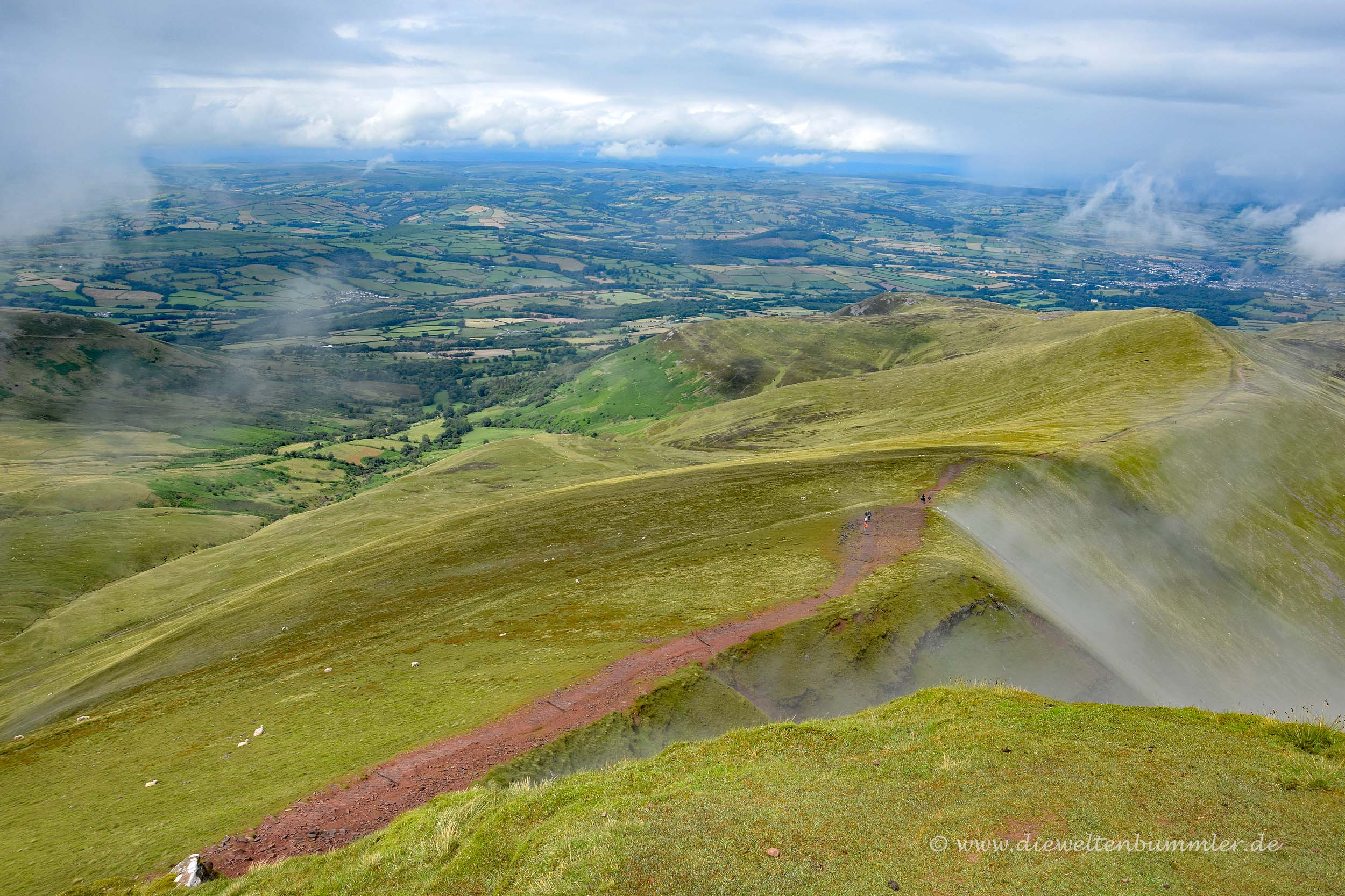 Ausblick auf Wales